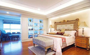 客厅与卧室隔断 巧用屏风隔断自由分割