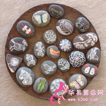 制成器物的石头,例如砚台
