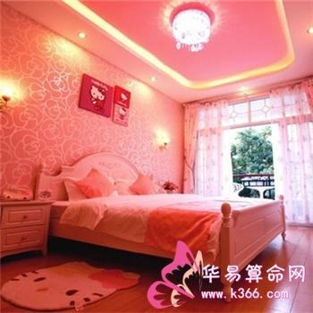 主卧室风水讲墙面刷成粉红色对夫妻情感有影响
