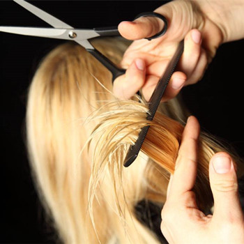 剪发型教学步骤图片